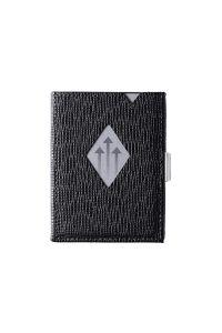 Πορτοφόλι Δερμάτινο Exentri Wallet 331 Μαύρο Mosaic