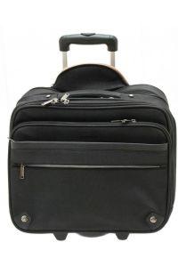 """Επαγγελματική Τσάντα-Trolley Για Laptop 15"""" DAVIDTS 259446-01 Μαύρο"""