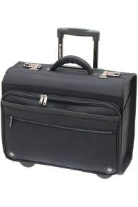 """Επαγγελματική Τσάντα-Trolley Για Laptop 17"""" DAVIDTS 259305-01 Μαύρο"""