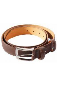 Δερμάτινη Ζώνη Firenze Leather 2048-30 Σκούρο Καφέ 30mm