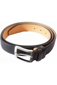 Δερμάτινη Ζώνη Ενισχυμένη Firenze Leather 2048-35 Μαύρο 35mm