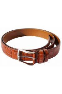 Δερμάτινη Ζώνη Croc Firenze Leather 3195 Tan 35mm