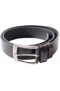 Δερμάτινη Ζώνη Firenze Leather 4111-40 Μαύρο 40mm
