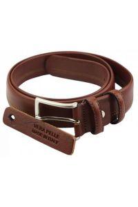 Δερμάτινη Ζώνη Legacy Firenze Leather 01235 Καφέ 35mm
