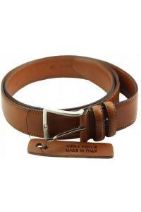 Δερμάτινη Ζώνη Liguri Firenze Leather 01635 Tan 35mm/120cm