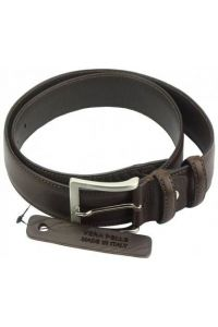 Δερμάτινη Ζώνη Camuni Firenze Leather 02135 Σκούρο Καφέ 35mm