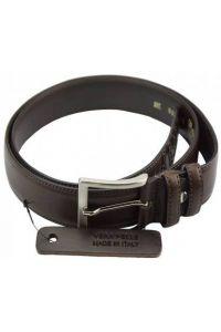 Δερμάτινη Ζώνη Pelasgi Firenze Leather 02135 Σκούρο Καφέ 35mm