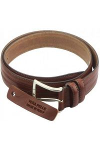 Δερμάτινη Ζώνη Rofena Firenze Leather 01235s Καφέ 35mm