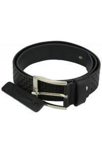 Δερμάτινη Ζώνη Ruggero Firenze Leather 050540 Μαύρο 40mm