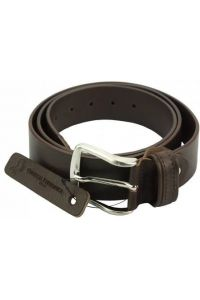 Δερμάτινη Ζώνη Elio Firenze Leather 30940 Σκούρο Καφέ 40mm
