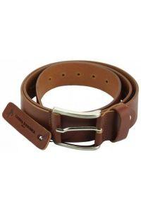 Δερμάτινη Ζώνη Saverio Firenze Leather 70240 Καφέ 40mm