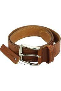Δερμάτινη Ζώνη Remo Firenze Leather 304140 Tan 40mm