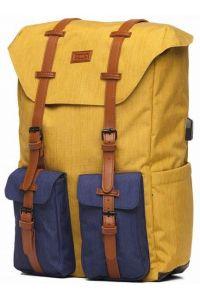 Σακίδιο Πλάτης POLO STYLLER 9-02-023-34 Κίτρινο