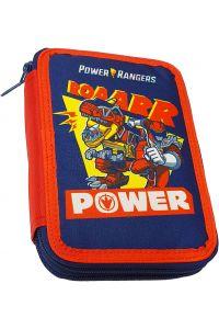 Γεμάτη Διπλή Κασετίνα GIM POWER RANGER DINOZORD 332-99100