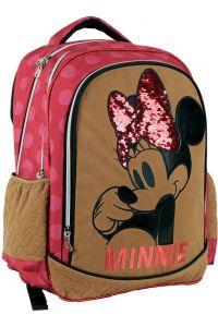 Τσάντα Δημοτικού Οβάλ GIM MINNIE SUEDE 340-47031