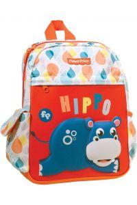 Tσάντα Πλάτης Νηπιαγωγείου GIM ΝΗΠΙΟΥ HIPPO FISHER PRICE 349-07054