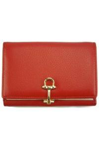 Δερμάτινο Πορτοφόλι Isotta Firenze Leather CO577 Κόκκινο