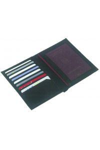Δερμάτινη θήκη διαβατηρίου με θήκες 14.5x11x1.5εκ  Next 28637