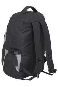 Τσάντα πλάτης BF 12 Diplomat Μαύρο/Γκρι