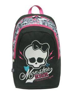 Τσάντα δημοτικού πλάτης monster high με 1 θήκη 43x35x16 εκ. Bagtrotter 29741
