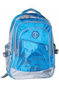 Τσάντα πλάτης μπλε με 3 θήκες 45x35x15 εκ. Next 26372