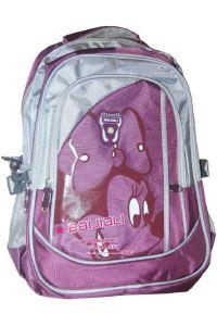 Τσάντα πλάτης μωβ με 3 θήκες 45x35x15 εκ. Next 26376