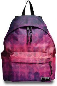 Τσάντα πλάτης δημοτικού με 2 θήκες 43x32.5x13.3 εκ. Extreme 28751