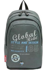 Τσάντα πλάτης global με 2 θήκες 45x32x20 εκ. Bagtrotter 29746