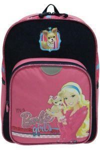Τσάντα δημοτικού πλάτης barbie με 2 θήκες 35x26x11 εκ. Bagtrotter 29773