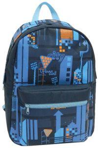 Τσάντα πλάτης μπλε με 2 θήκες 40x30x16 εκ. Bagtrotter 29781