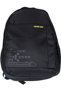 Σακίδιο Πλάτης Με Θήκη για Laptop Daily Outdoor Colorlife 1543 Μαύρο