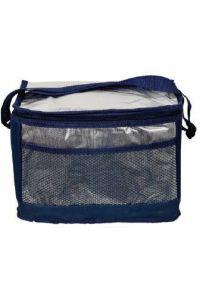 Ισοθερμική Τσάντα 32x20x22 εκ. Με Επένδυση Αλουμινίου Colorlife V226 Μπλε