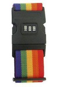 Ιμάντας Βαλίτσας Με Συνδυασμό M303 Χρωματιστό