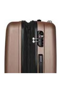 Βαλίτσα Μεσαία Σκληρή 4 Ρόδες 60 εκ Stelxis 505-60 Μαύρο