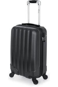 Βαλίτσα Καμπίνας Σκληρή 4 Ρόδες 55 εκ Stelxis 505-55 Μαύρο