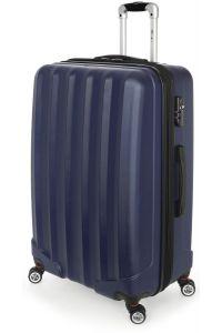 Βαλίτσα Μεγάλη Σκληρή 4 Ρόδες 70 εκ Stelxis 505-70 Μπλε