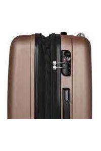 Βαλίτσα Μεσαία Σκληρή 4 Ρόδες 60 εκ Stelxis 505-60 Χρυσό