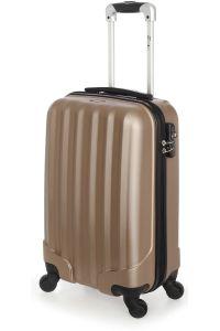 Βαλίτσα Καμπίνας Σκληρή 4 Ρόδες 55 εκ Stelxis 505-55 Χρυσό