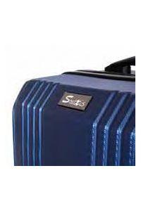 Βαλίτσα Μεσαία Σκληρή 4 Ρόδες 60 εκ Stelxis 510-60 Μαύρο