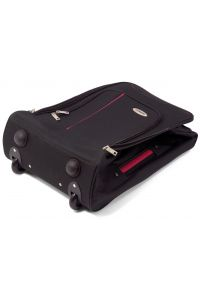 Βαλίτσα Καμπίνας Τρόλευ Αναδιπλούμενη BENZI BZ4891 Μαύρο/Μωβ