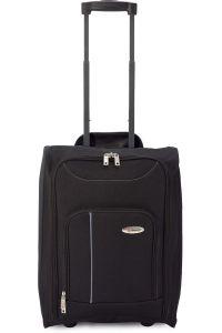 Βαλίτσα Καμπίνας Τρόλευ Αναδιπλούμενη BENZI BZ4891 Μαύρο/Γκρι