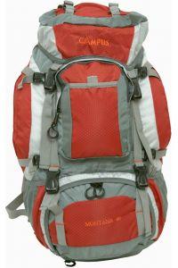 Ορειβατικό Σακίδιο Montana 50lt Κόκκινο/Γκρι Campus 810-9105-9