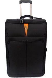 Βαλίτσα Καμπίνας τρόλευ Diplomat ZC 6100 51x35x21εκ Μαύρο