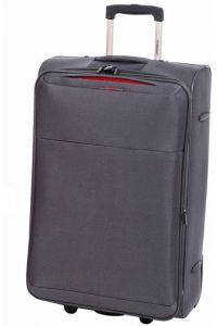 Βαλίτσα τρόλεϊ 61εκ. με Επέκταση Diplomat ZC 6039 Γκρι