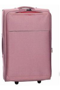 Βαλίτσα τρόλεϊ 61εκ. με Επέκταση Diplomat ZC 6039 Ροζ