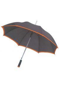 Ομπρελα Αυτόματη 105cm Next 22222 Μαύρο/Πορτοκαλί