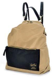 Γυναικειο Backpack Legato Largo 1041K Μπεζ/Μαύρο