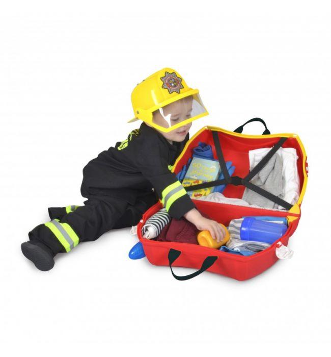 Παιδικη Βαλιτσα Frank Fire Truck Trunki 0254-GB01