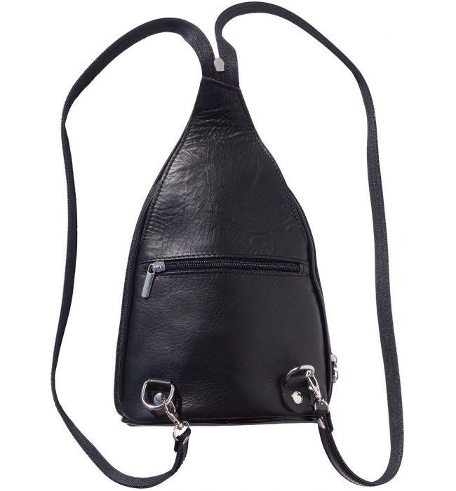 5ea7e1ae67 ... Δερμάτινη Τσάντα Πλάτης Foglia GM Firenze Leather 2060 Μαύρο ...