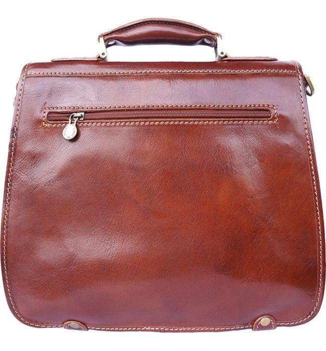 230bccf40f ... Δερμάτινος Χαρτοφύλακας Mini 2 Θέσεων Firenze Leather 7608 Καφε ...
